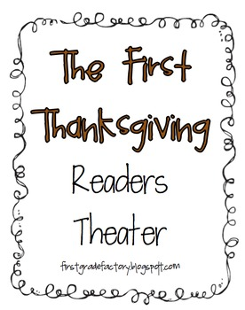 First Grade Readers Theater Teaching Resources | Teachers Pay Teachers