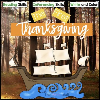Thanksgiving Writing: The First Thanksgiving