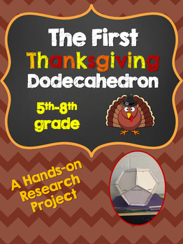 The First Thanksgiving Research Dodecahedron