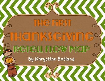 The First Thanksgiving - Retell Flow Map