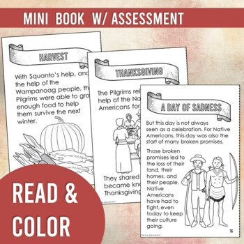 The First Thanksgiving: Story Anchor Charts