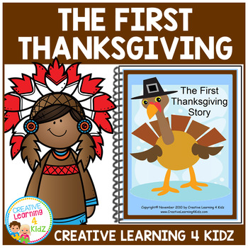 The First Thanksgiving Story Book Autism