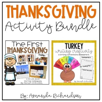 Thanksgiving Activities to Teach the First Thanksgiving