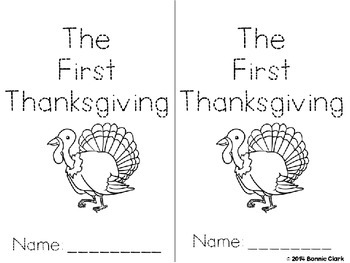 The First Thanksgiving an Adapted Story