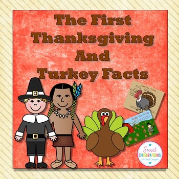 THANKSGIVING: First Thanksgiving and Turkey Facts: Smartboard