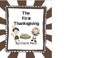 The First Thanksgiving little reader