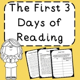 Beginning of the Year Reading - The First 3 Days