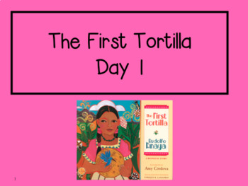 The First Tortilla 2nd Grade Reading Street Powerpoints