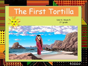 The First Tortilla, Interactive PowerPoint, 2nd Grade