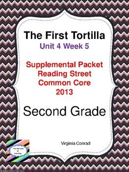 The First Tortilla:  Second Grade Reading Street Supplemental Packet