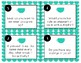 The First Week Chit Chat Task Cards
