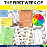 Back to School First Week of First Grade