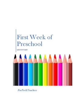 The First Week of Preschool