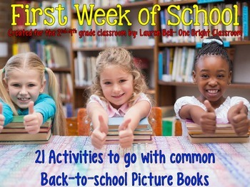 The First Week of School {Activities used with Back to Sch