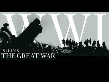 The First World War PowerPoint