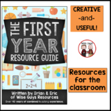 First Year Teacher Resource Guide