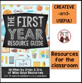 First Year Teacher Resource Guide
