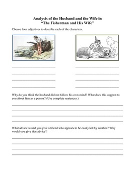 The Fisherman and His Wife: A German Fable From the Brothers Grimm