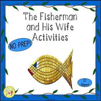 The Fisherman and His Wife Fairy Tales Worksheets Activities Games and More