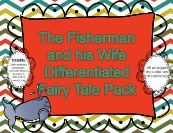 The Fisherman and his Wife: Differentiated Comprehension Pack