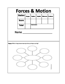 The Five 5E's: Forces and Motion