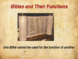 The Five Bibles and Their Functions