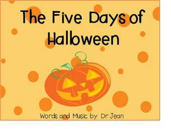 The Five Days Of Halloween Powerpoint
