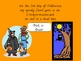 The Five Days of Halloween Shared Reading PowerPoint for Kindergarten