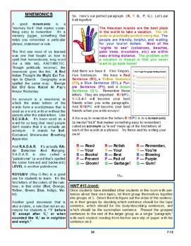 The Five Finger Paragraph© -- Sample, Gr 7-12, Teacher Ed.