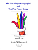 The Five Finger Paragraph© -- Grades 7-12 Classroom Kit