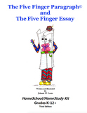 The Five Finger Paragraph© -- HomeSchool-HomeStudy Kit (Gr. K-12)