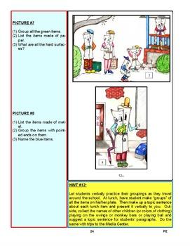 The Five Finger Paragraph© -- Primary Elemementary (Gr. K-4) Classroom Kit