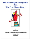 The Five Finger Paragraph and The Five Finger Essay -- Pri