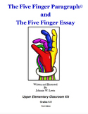 The Five Finger Paragraph© -- Upper Elementary (Gr. 4-8) Classroom Kit