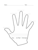 """The Five Finger Rule: Finding A """"Just Right"""" Book"""