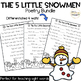 The Five Little Snowmen Poem: Printables and Pocket Chart