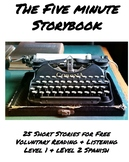 The Five Minute Storybook- A Collection of Short Stories f