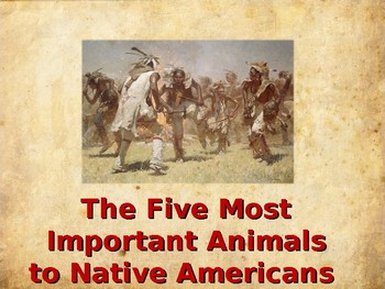 The Five Most Important Animals to Native Americans