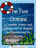 The Five Oceans - Integrated Science and Literacy Unit (Co