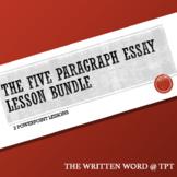 The Five Paragraph Analytical Essay Lesson Bundle
