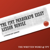 The Five Paragraph Analytical Essay Lesson Bundle