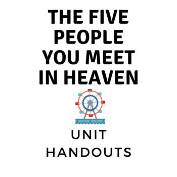 The Five People you Meet in Heaven- Handouts