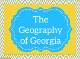 SS8G1: The Five Regions of Georgia *GSE Aligned
