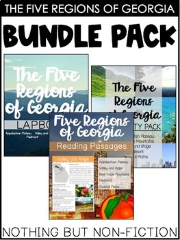 The Five Regions of Georgia ::BUNDLE::