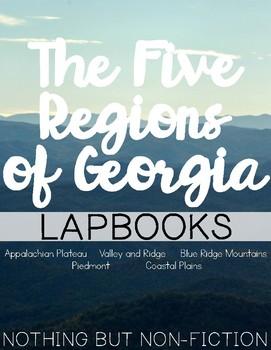 The Five Regions of Georgia Lapbooks