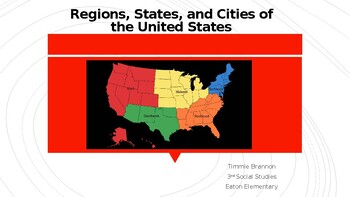The Five Regions of the United States+ More!