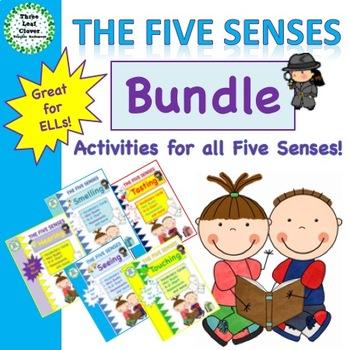 The Five Senses - Bundle - The 5 Senses Activities