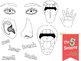 The Five Senses Clip Art Set