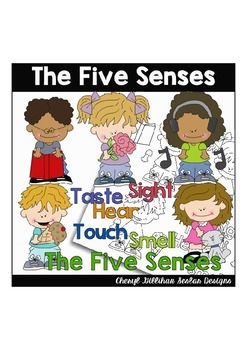 The Five Senses Clipart Collection