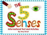 The Five Senses: Informational Text and Activities